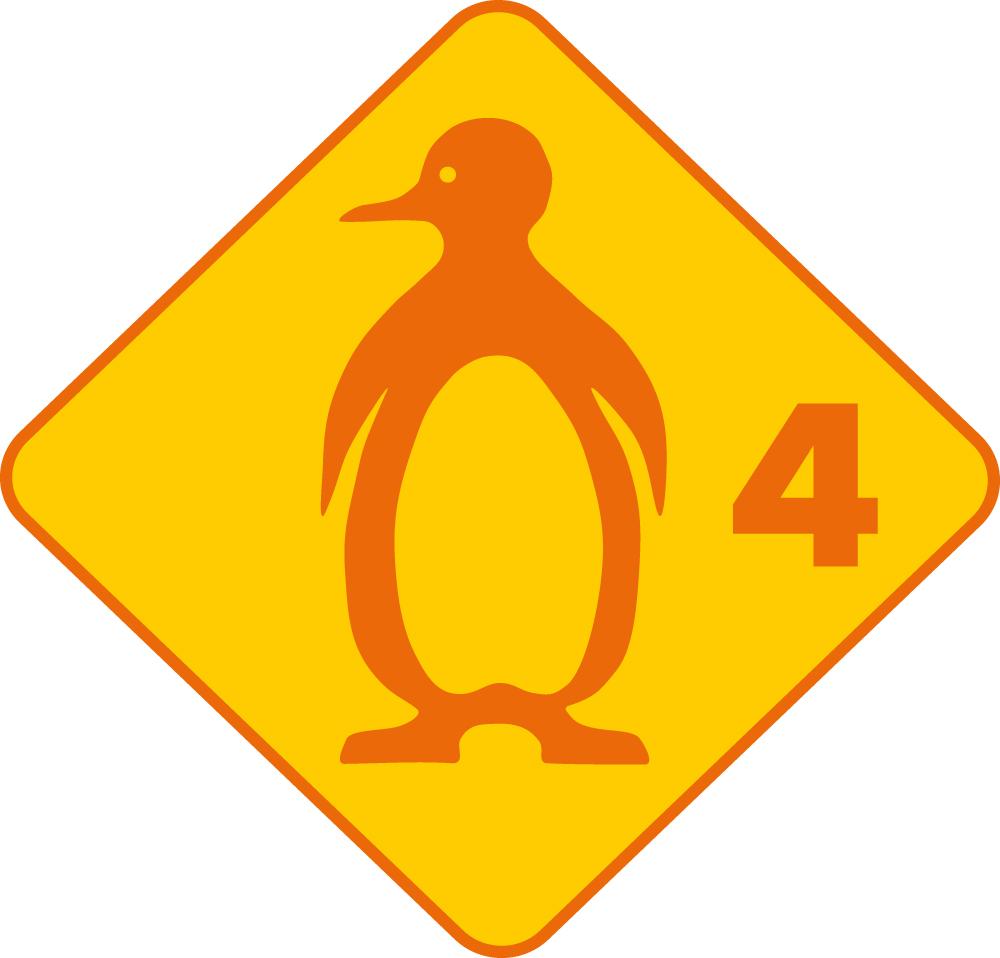 Pinguin Schwimmabzeichen