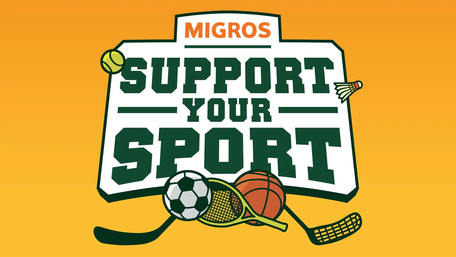 Support Your Sport Migros
